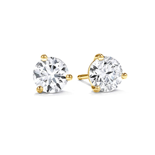 Hearts On Fire Diamond Stud Earrings.  starting at