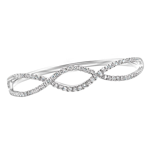 Custom Diamond Infinity Bracelet