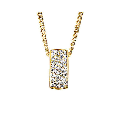 Pre-Owned Pave Diamond Pendant