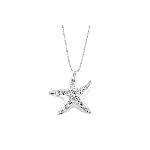Pre-Owned Tiffany Starfish Pendant