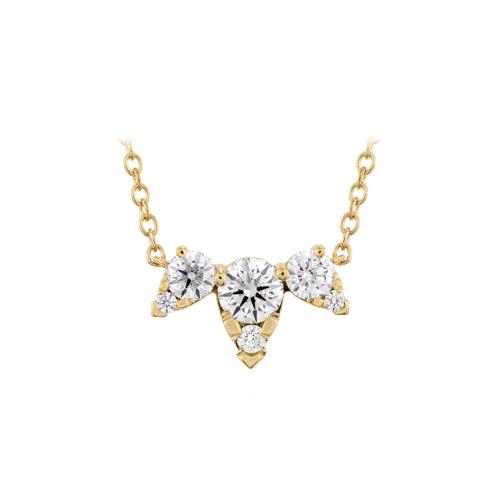 Hearts On Fire Aerial Triple Diamond Pendant