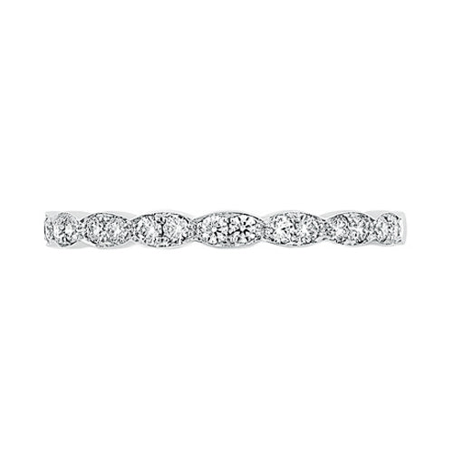 Hearts On Fire Lorelei Floral Diamond Wedding Band Ring