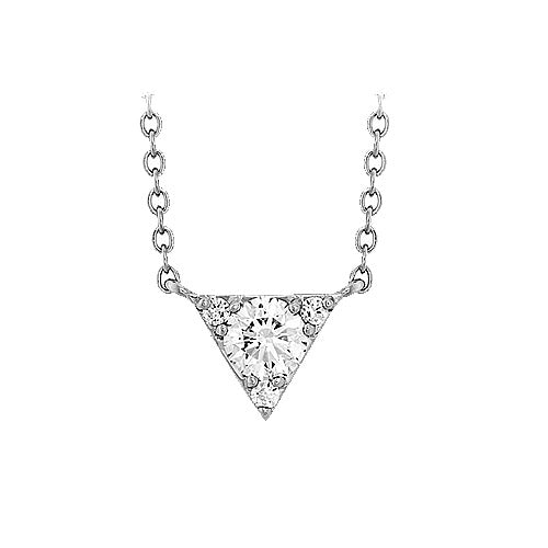 Hearts On Fire Triplicity Diamond Pendant