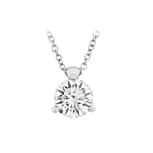 Hearts On Fire Solitaire Diamond Pendant