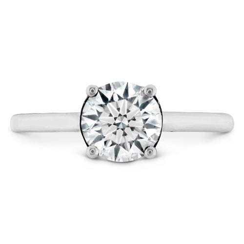 Hearts On Fire Sloane Round Solitare Engagement Ring