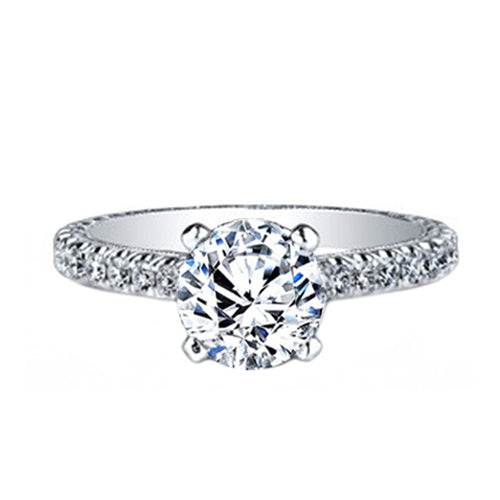 Jack kelege Diamond Engagement Ring