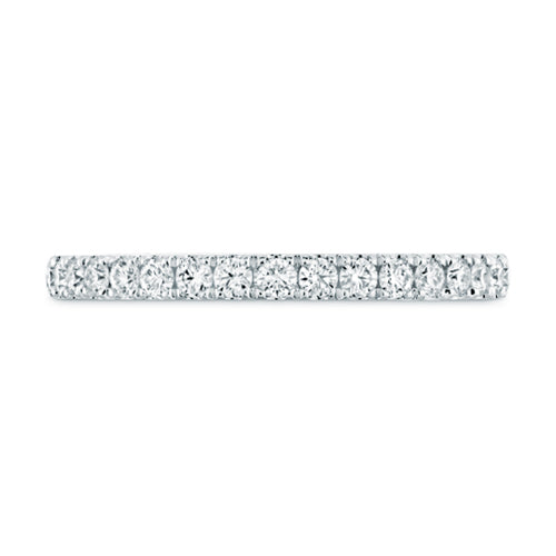 Hearts On Fire Juliette Half Eternity Diamond Wedding Band Ring
