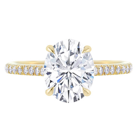 Blair Diamond Oval Engagement Ring