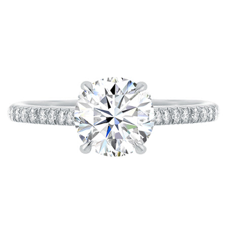 Blair Round Diamond Engagement Ring