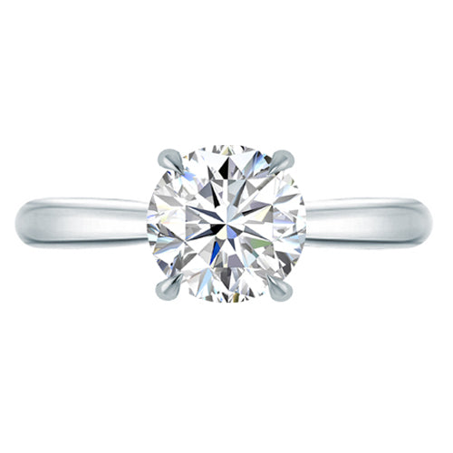 Stella Diamond Round Solitaire Engagement Ring