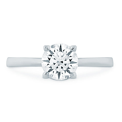 Hearts On Fire Signature Solitaire Engagement Ring