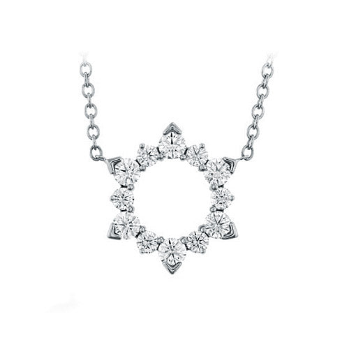 Hearts On Fire Aerial Eclipse Diamond Pendant