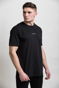 Black Organic Cotton T-Shirt