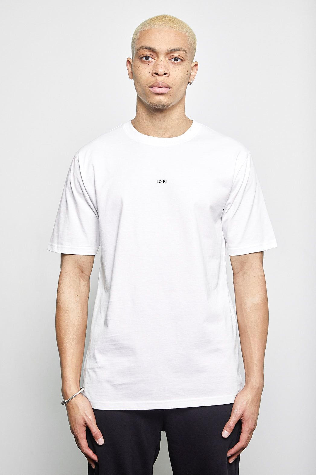 Printed T-Shirt in White
