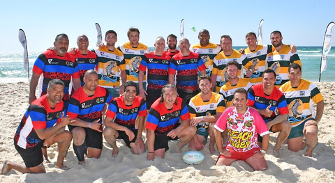 Cully7 beach rugby uniforms