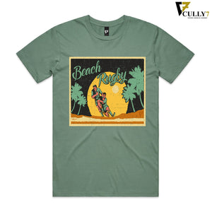 Retro Beach Rugby T-Shirt - Cully7 Apparel