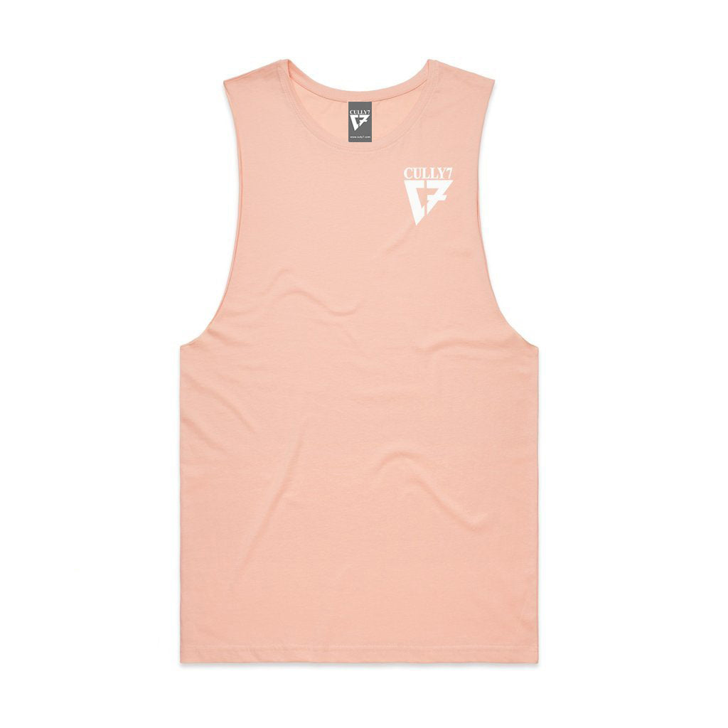 Cully7 Logo Active Tank Tee - Cully7 Apparel