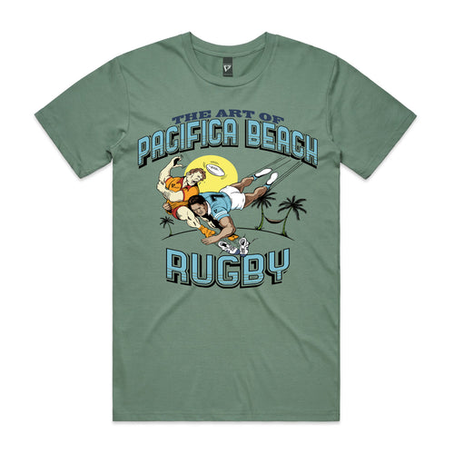 Pacifica Art Of Rugby T-shirt - Cully7 Apparel