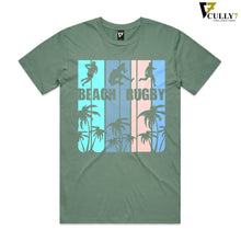 Load image into Gallery viewer, Tropical Beach Rugby T-Shirt - Cully7 Apparel