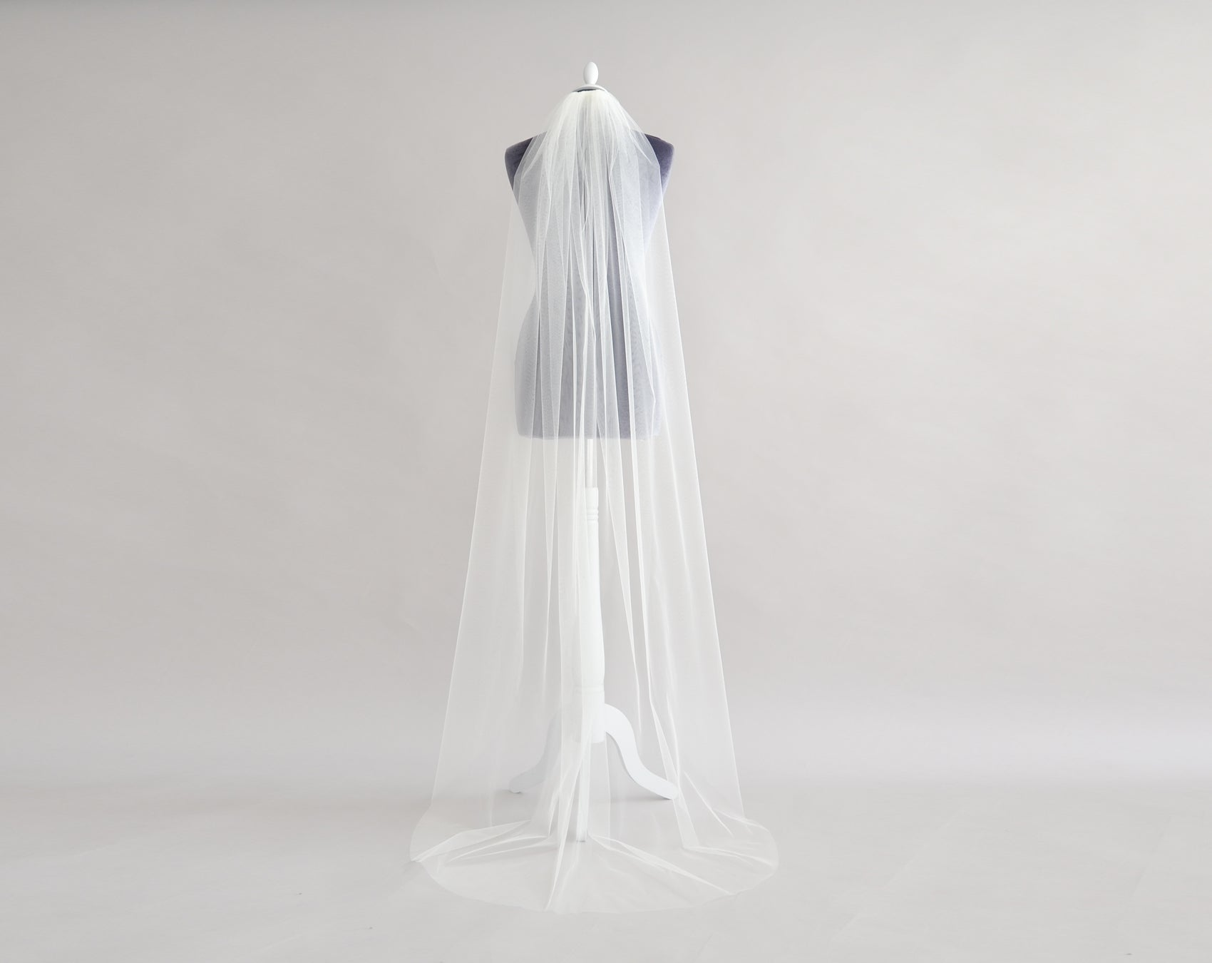 Our New Cascade Comb Veil - Calypso