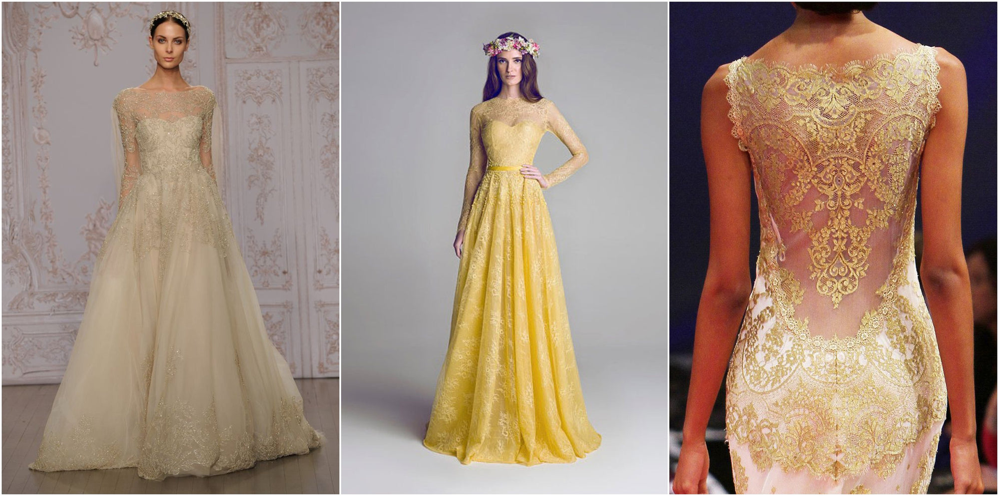 Pale Yellow Wedding Theme Inspiration!