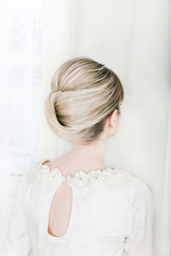Elegant bridal hair inspiration
