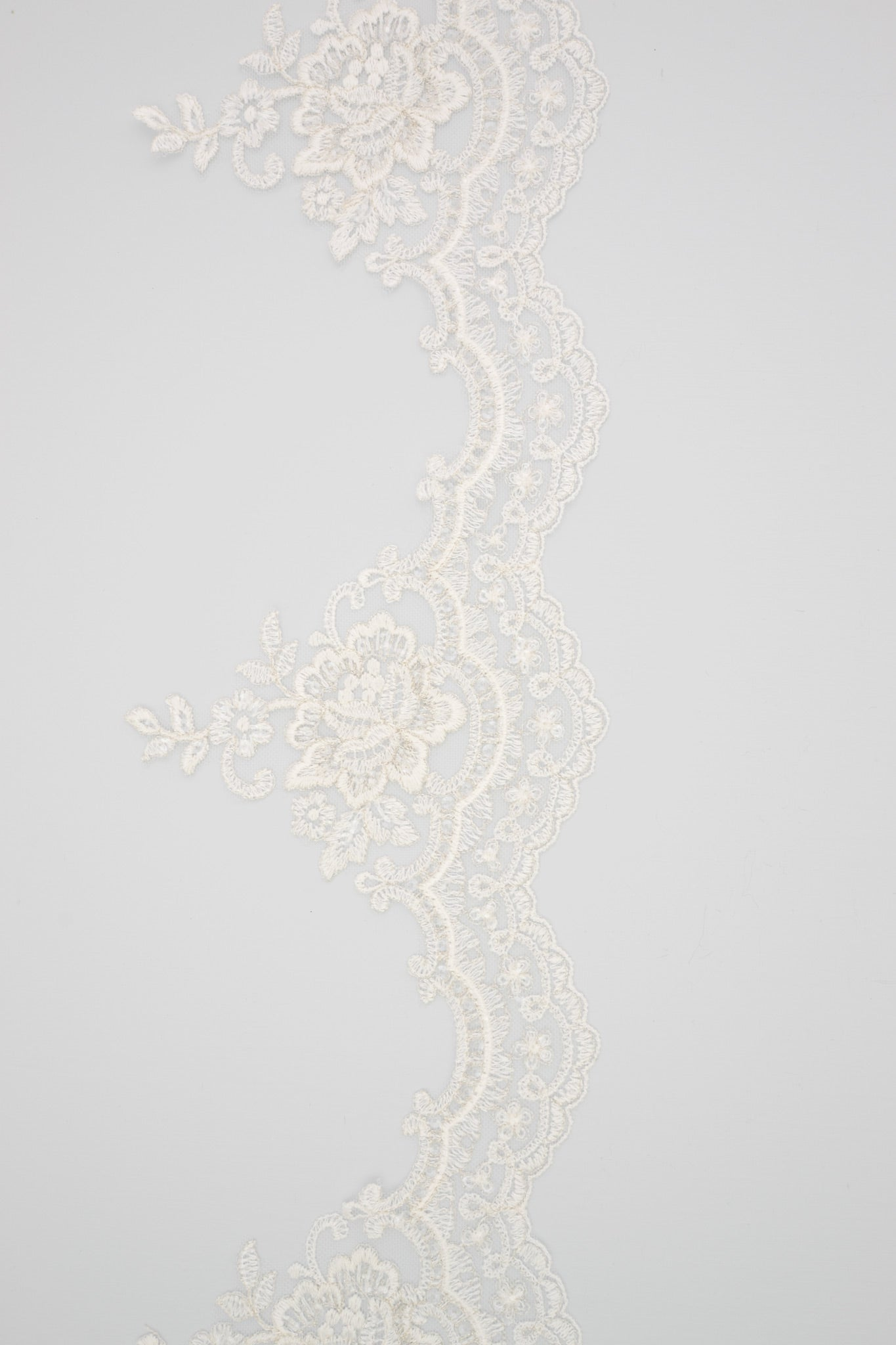 bespoke lace for veil