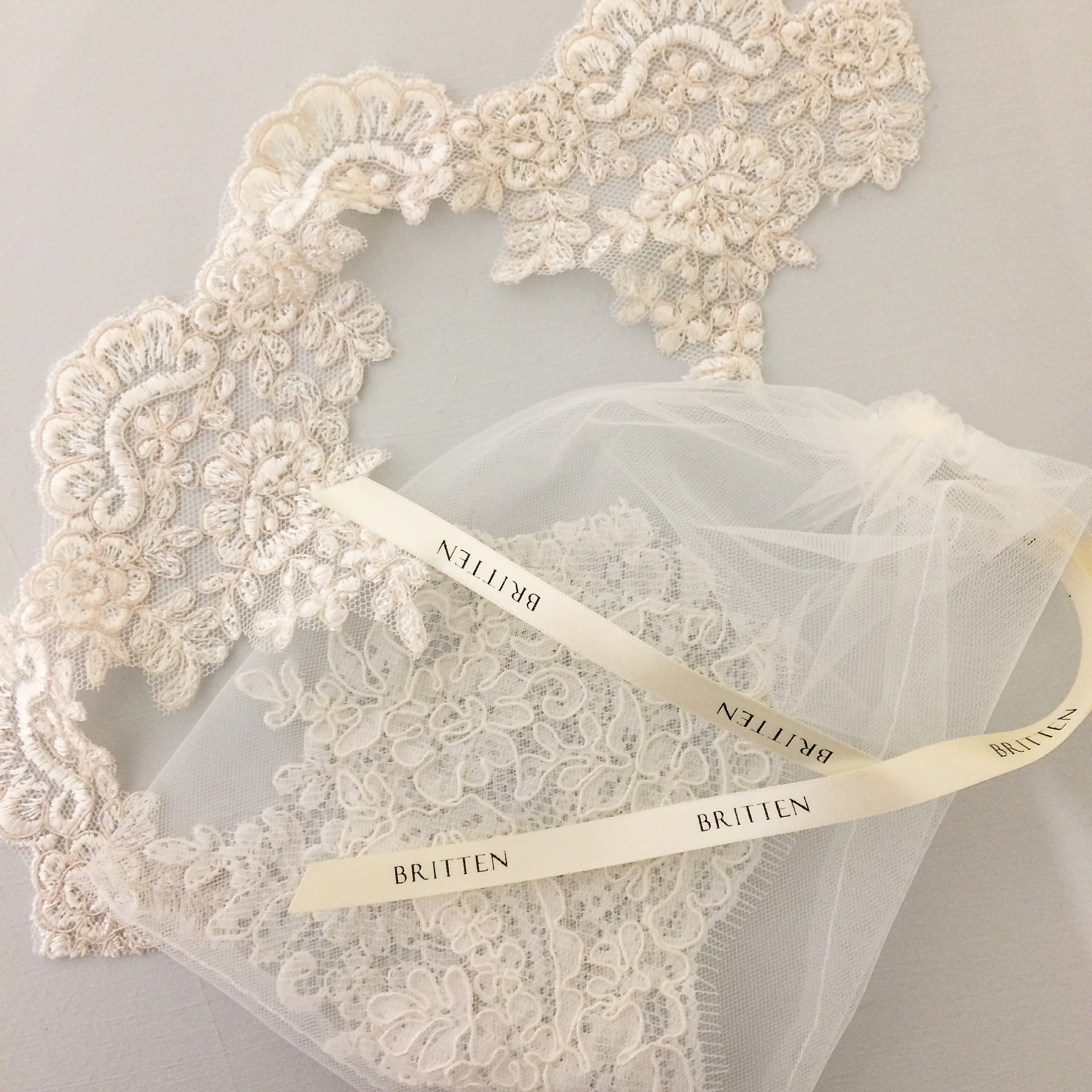 bespoke wedding veil