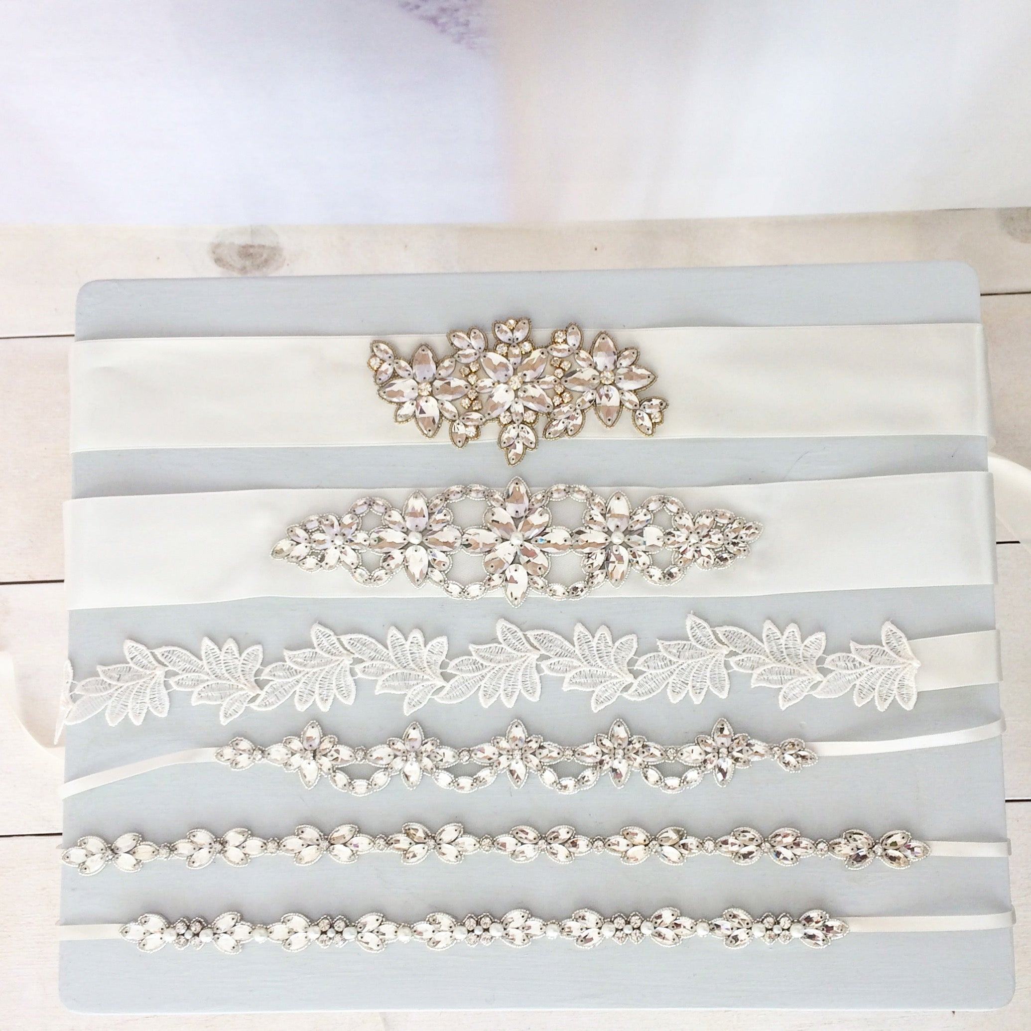 wedding belts and sashes