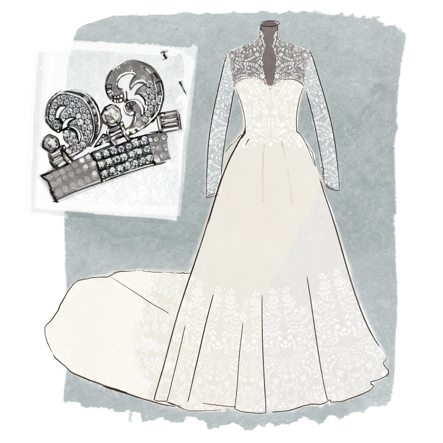 catherine middleton wedding dress