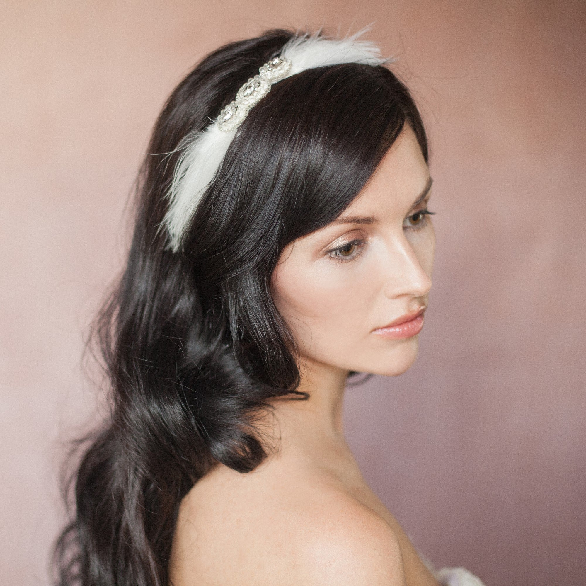 Kiki bridal headband By Britten Weddings