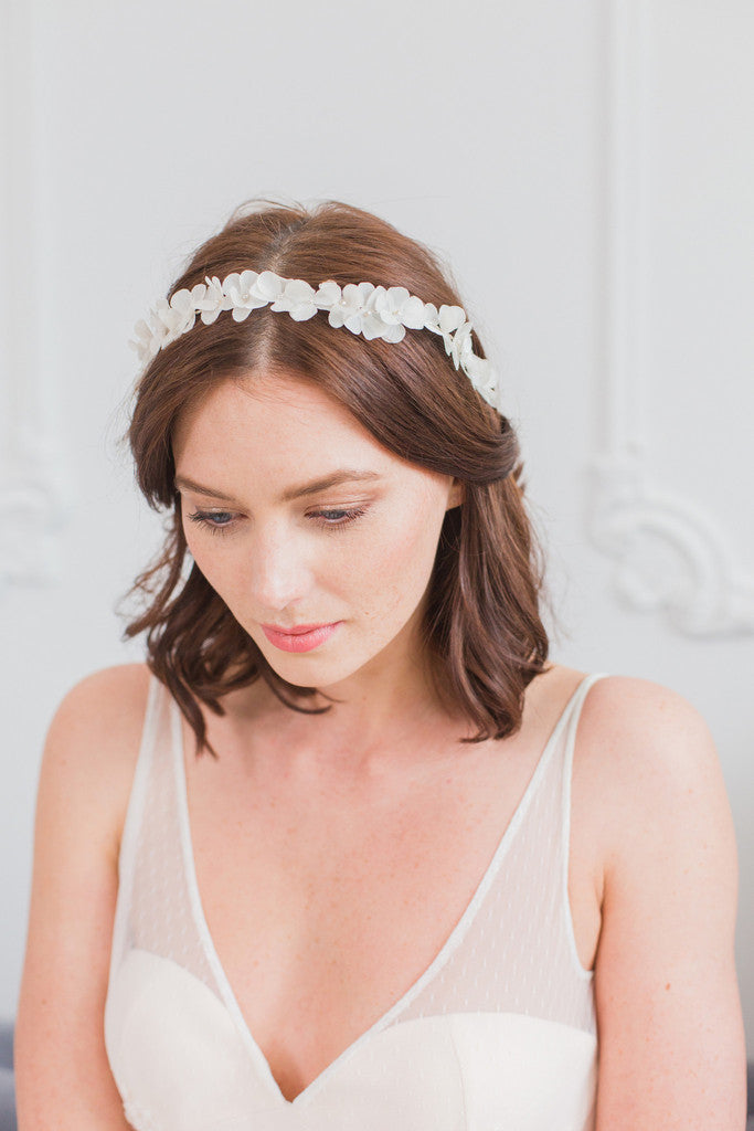 Bridal head band by Britten Weddings
