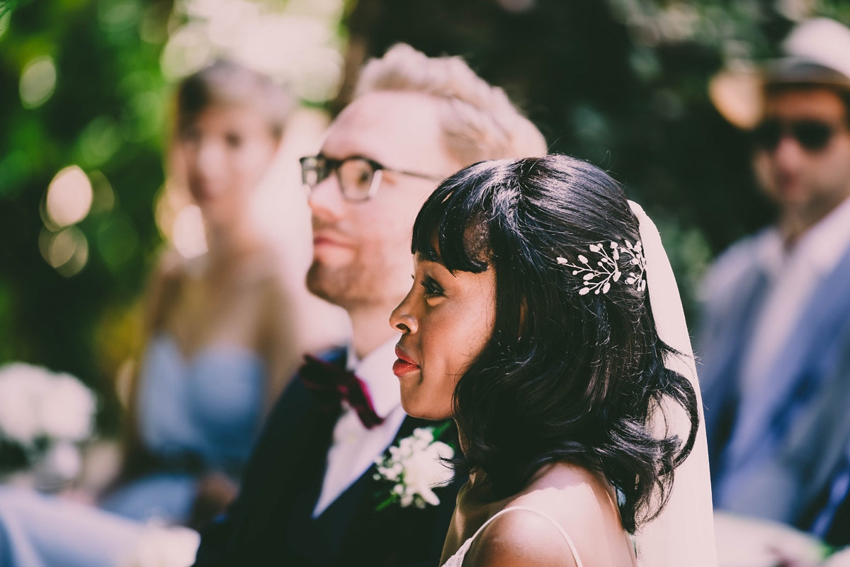 polka dot soft tulle single tier veil Dot
