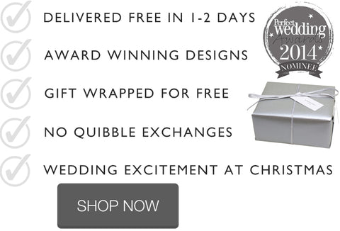 Wedding earrings the perfect christmas gift