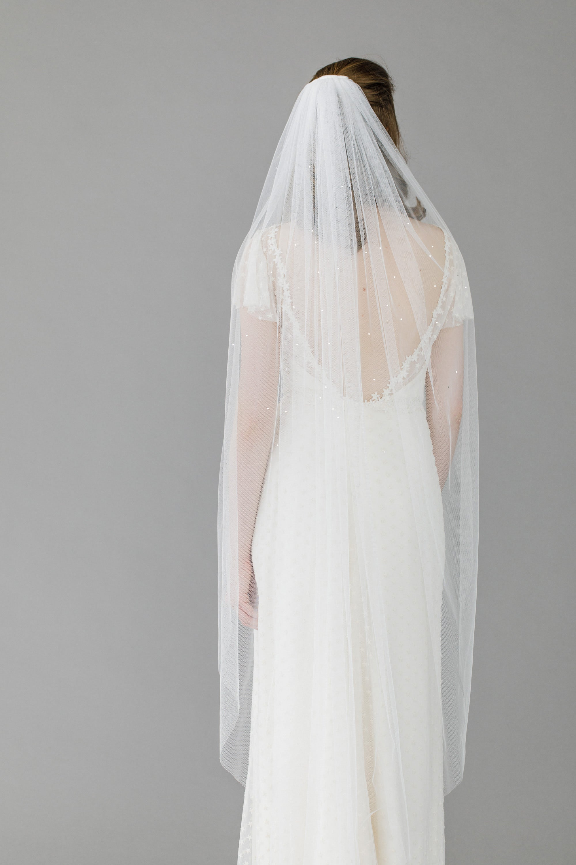 ballet length wedding veil