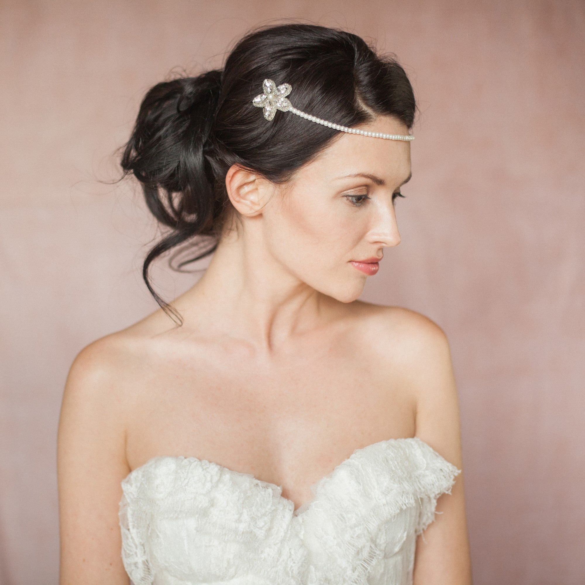 Silvie hair pins by Britten Weddings