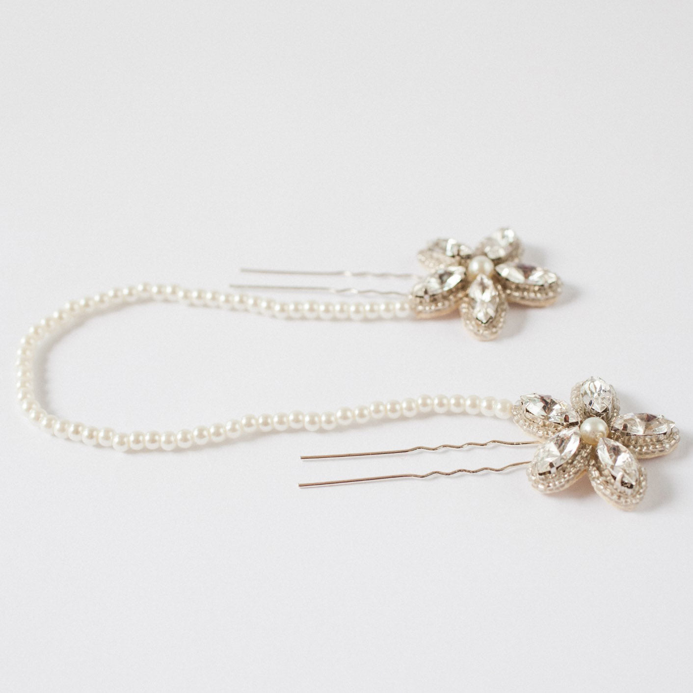 Silvie bridal hair pins by Britten Weddings