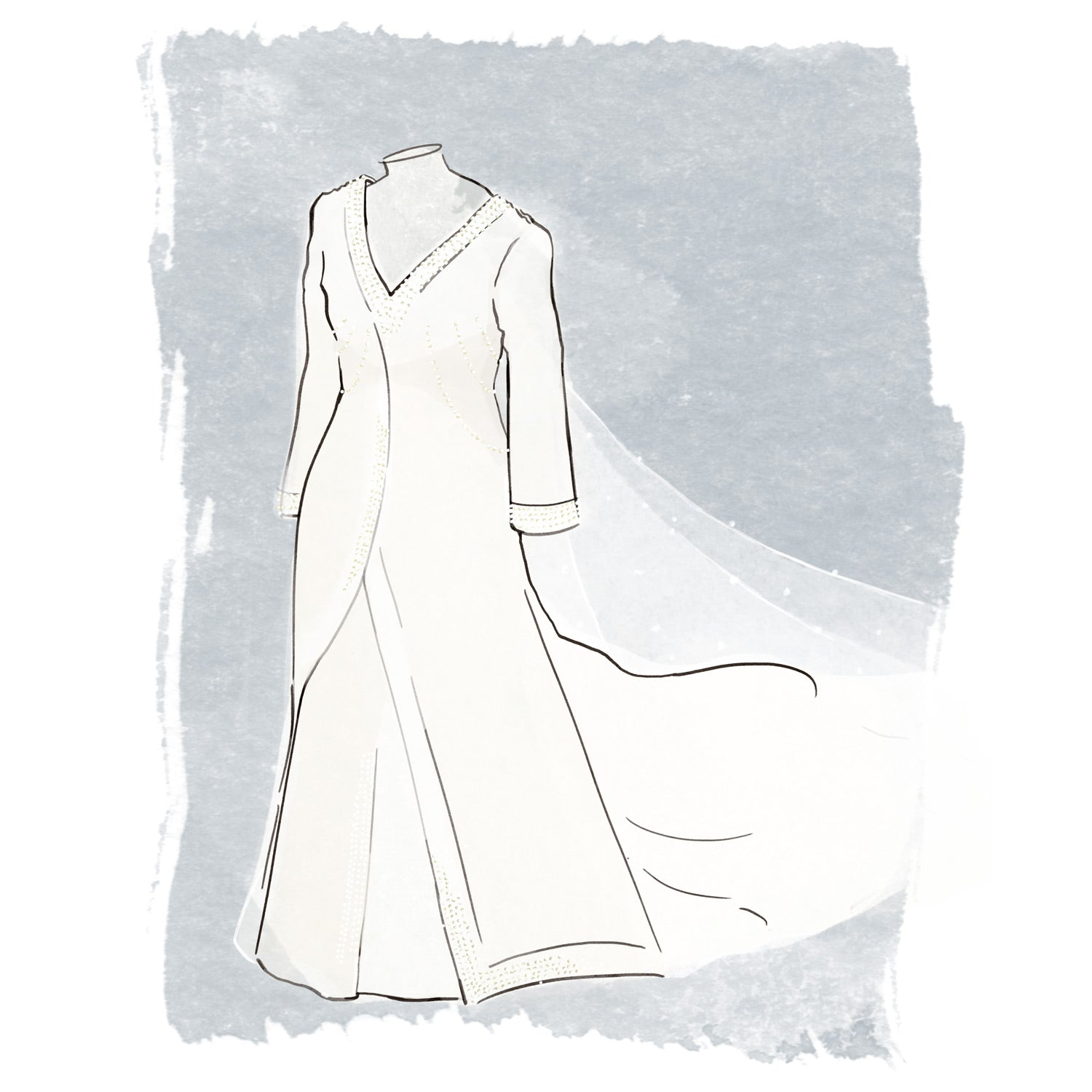 Sophie Rhys Jones Wedding Dress