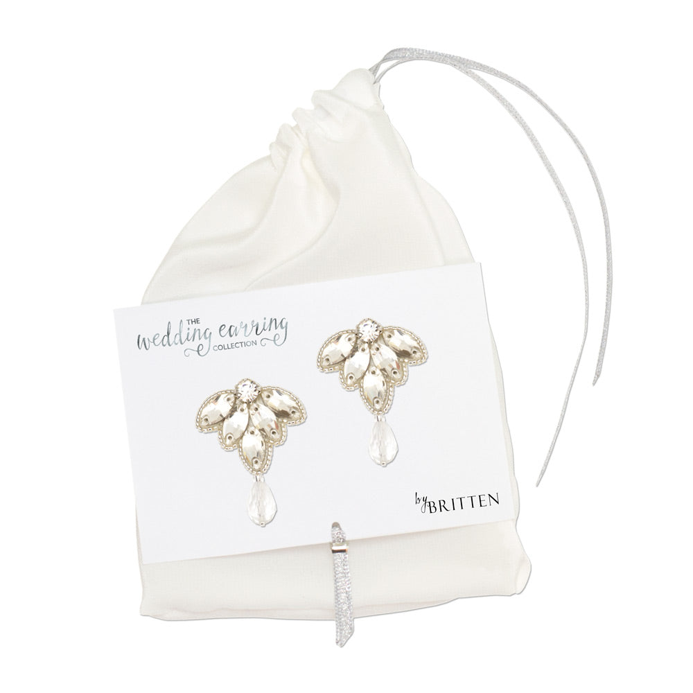 wedding earrings for sensitive ears