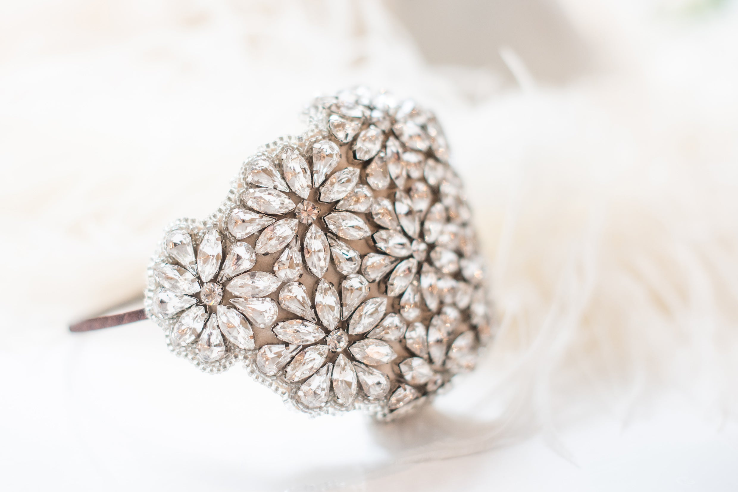 Coco wedding headband