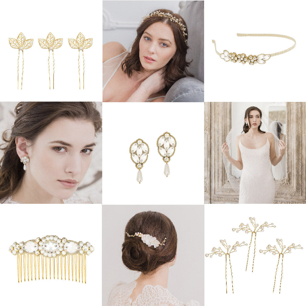 Gold Wedding Accessories