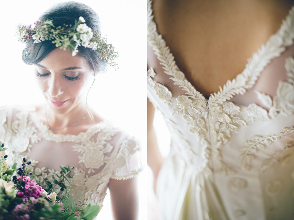 Love and bravery leila lace dress