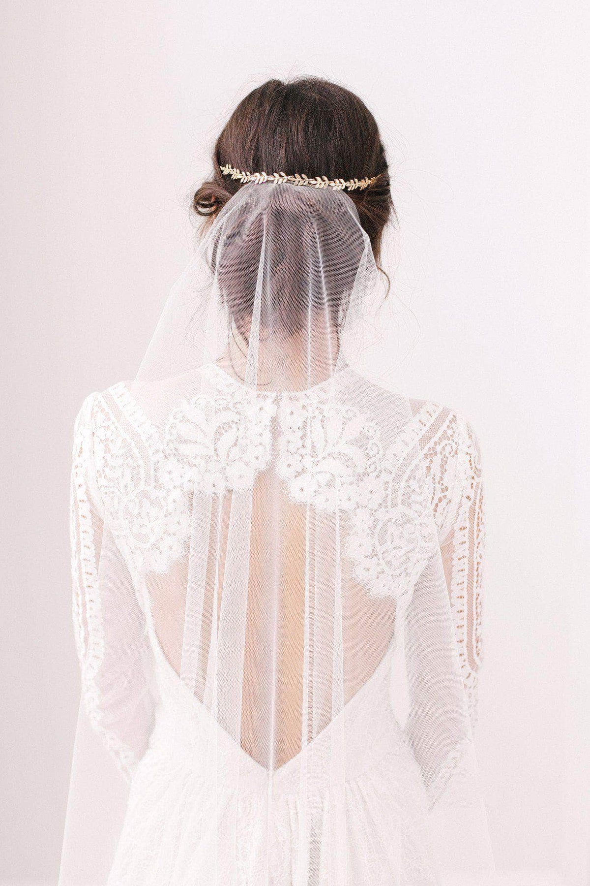 Wedding Veil Barely there wedding veil - 'Skylar'