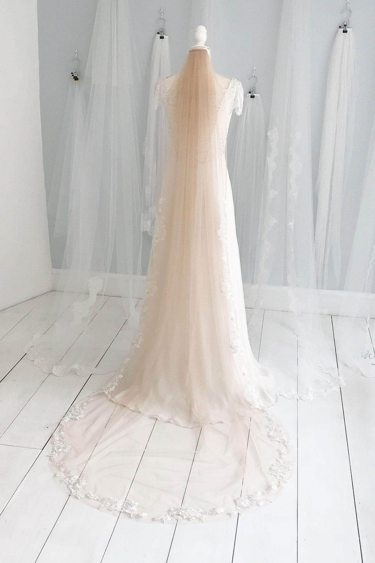bespoke custom wedding veil