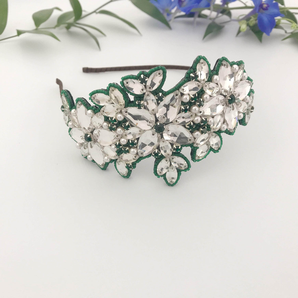 Wedding Hairvine Custom Wedding Headpiece - The Bespoke Option