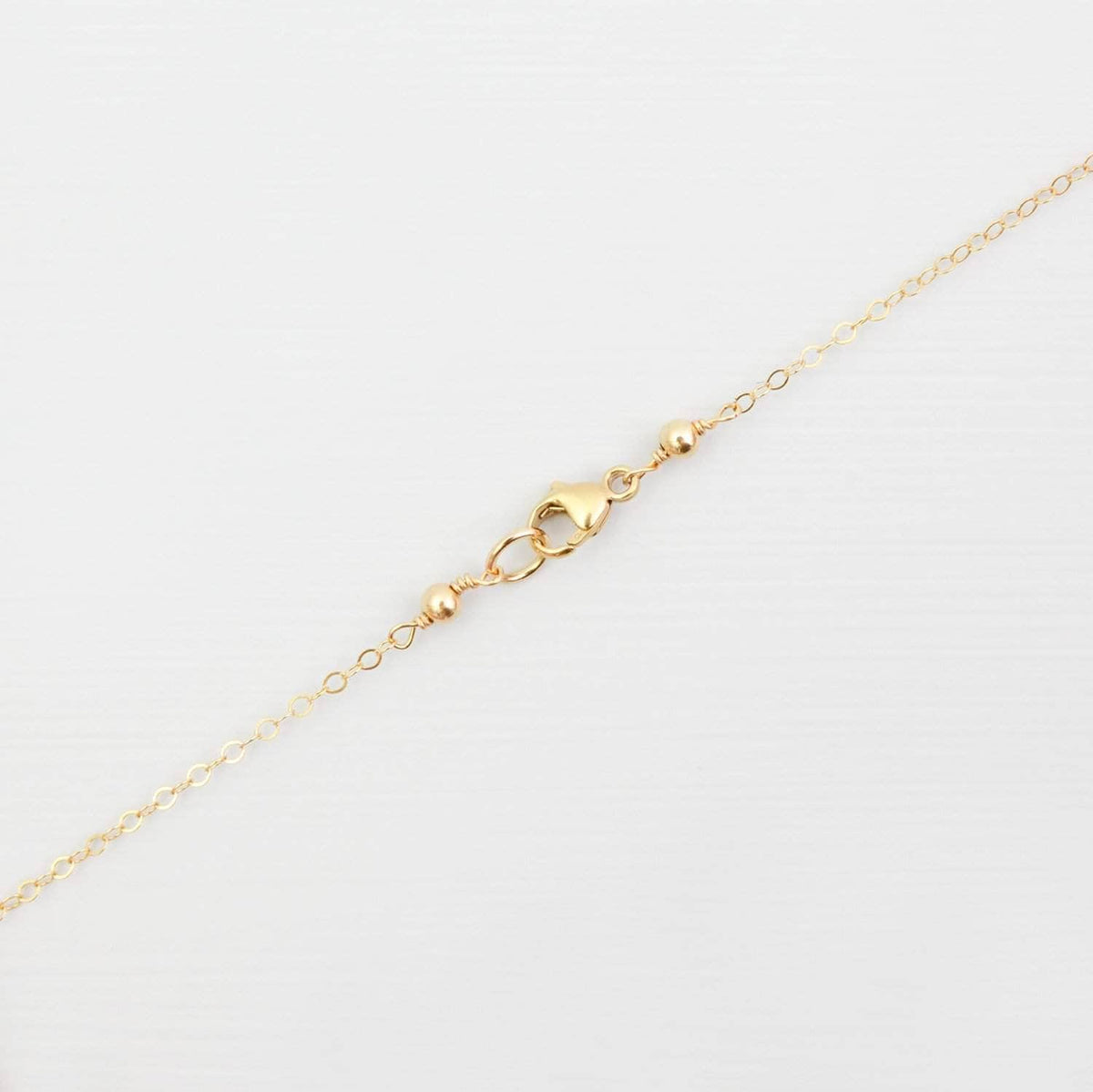 Wedding Necklace Gold Hammered Disk Necklace - 'Effie'