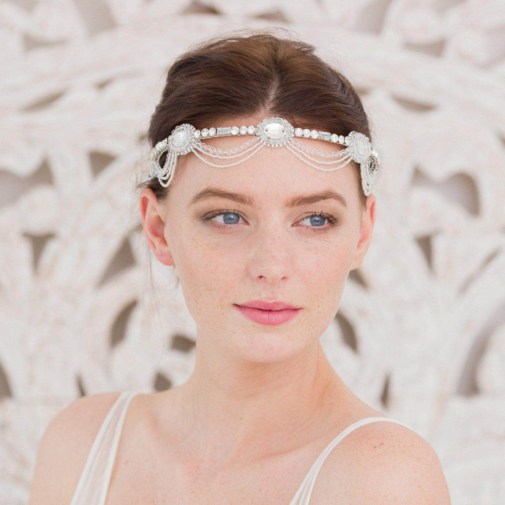 1920s wedding headband