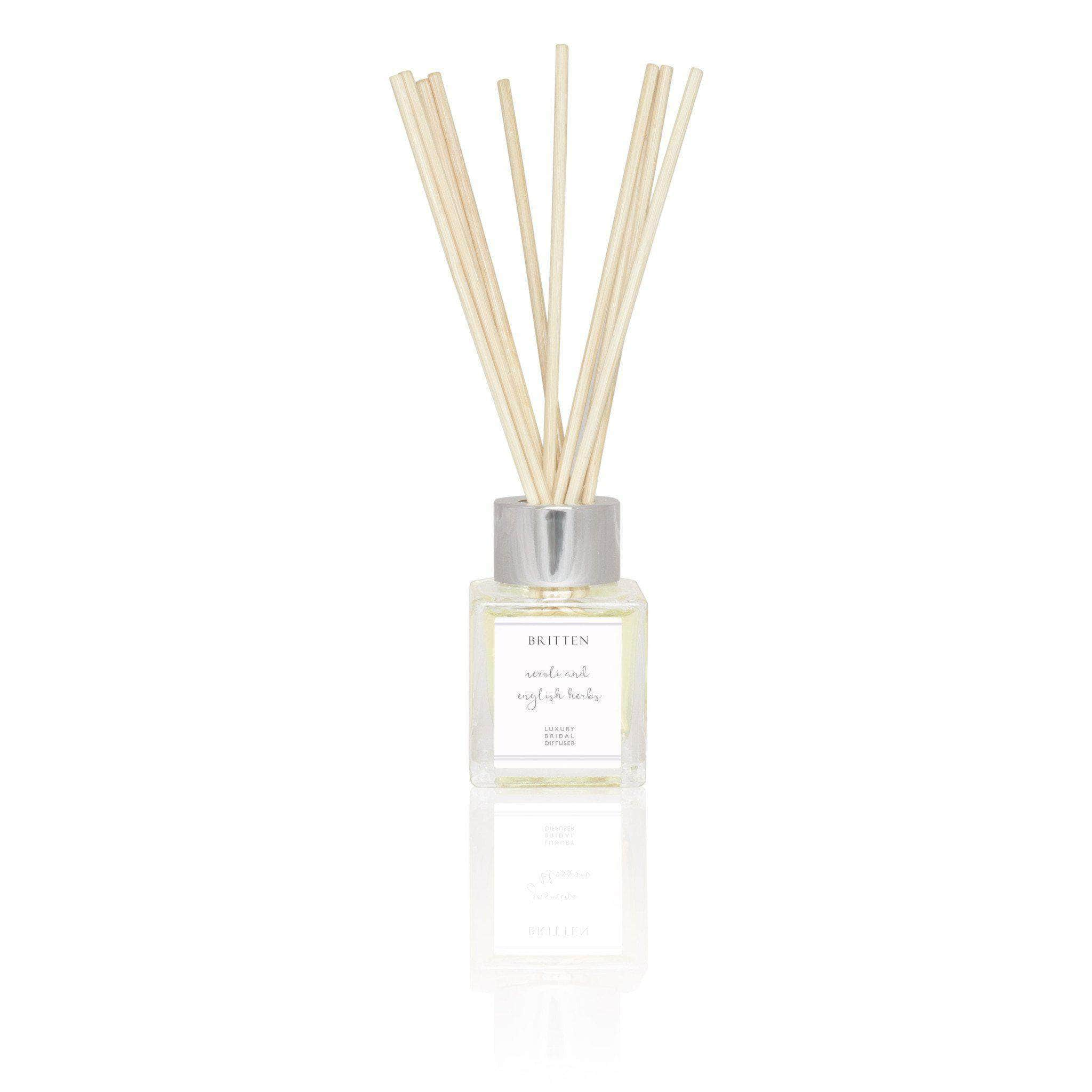 Neroli & English Herbs Essential Oils Luxury Bridal Diffuser
