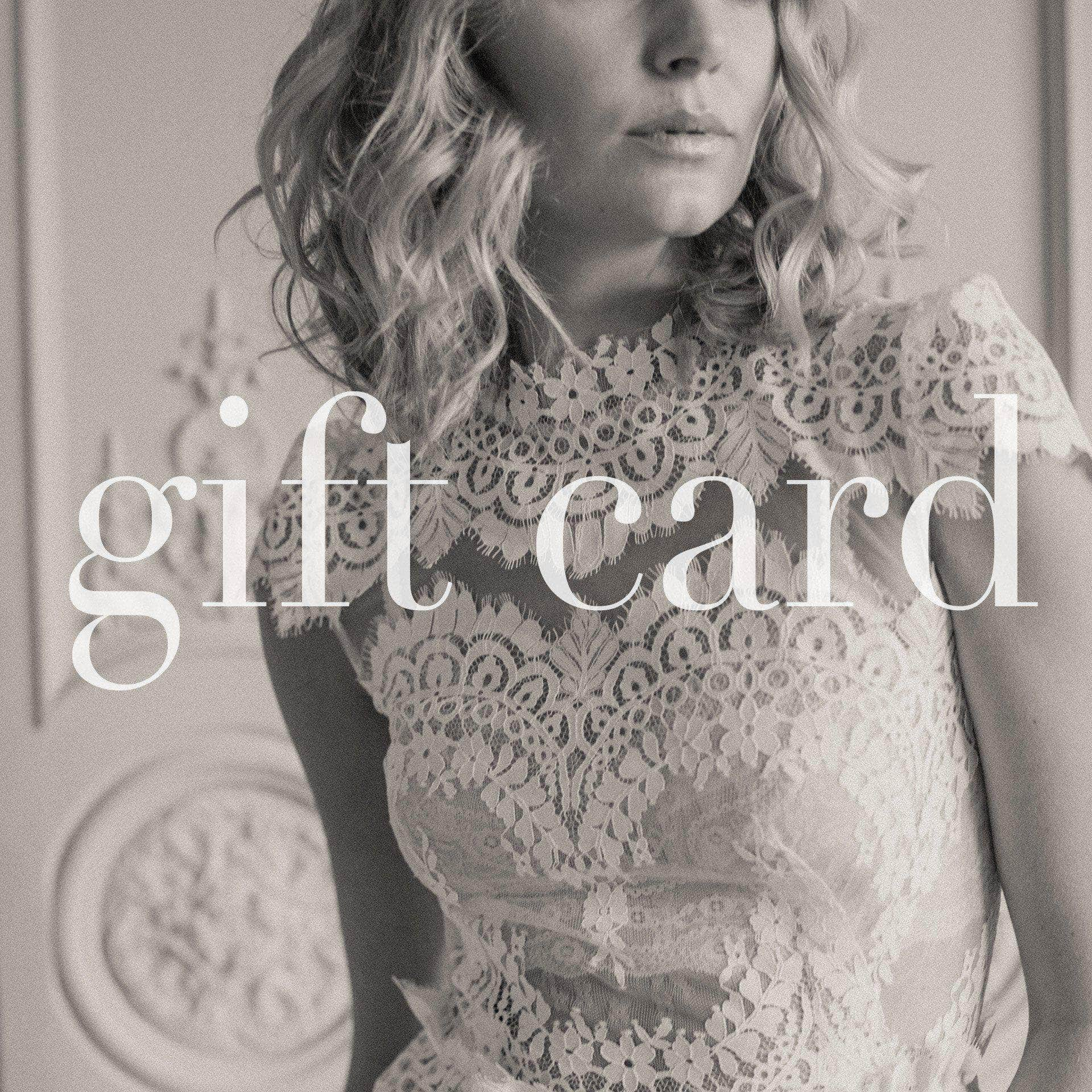 Bride-To-Be Gift Card