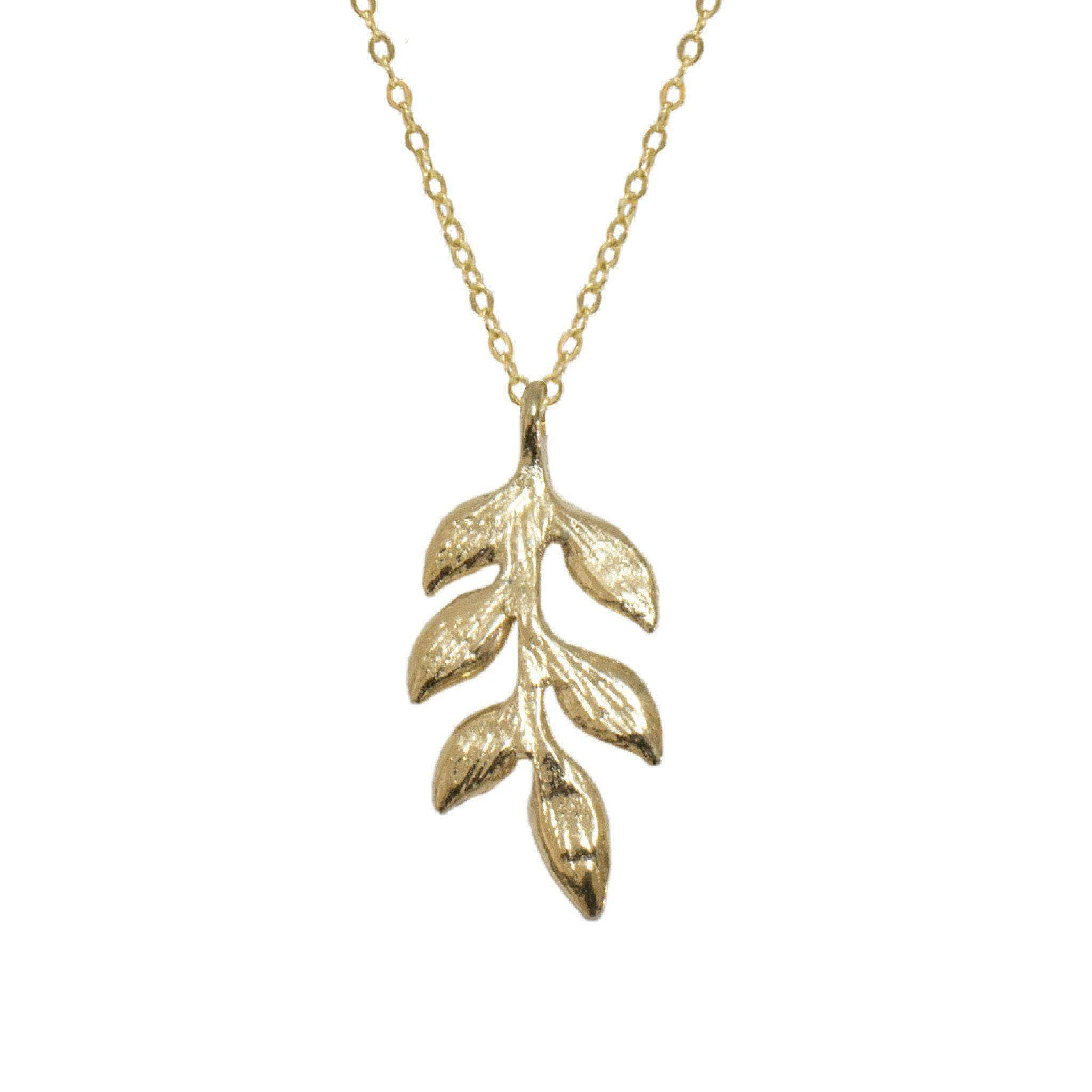 sale leaf products pendant necklace with charmed sigalie pearls on collections at buy gold